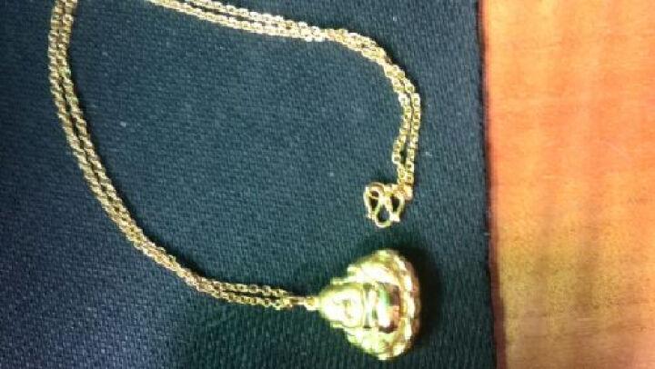 六福典雅珠宝 黄金项链女款 999足金项链O字链5-5.1克 晒单图
