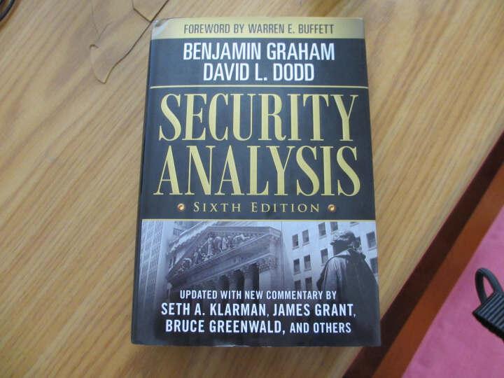 Security Analysis  证券分析 英文原版 晒单图