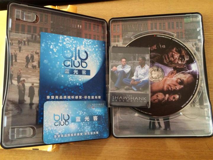 肖申克的救赎(蓝光碟 BD50)(京东专卖经典铁盒版) 晒单图