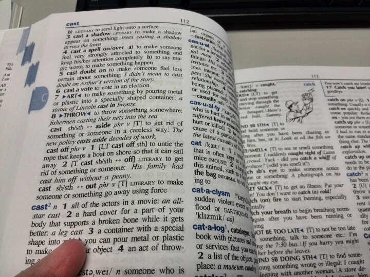 朗文中阶英语词典(英语版) 晒单图