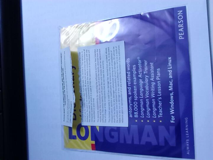 Longman Dictionary of Contemporary English, Fifth Edition朗文当代英语词典,附DVD 英文原版 晒单图