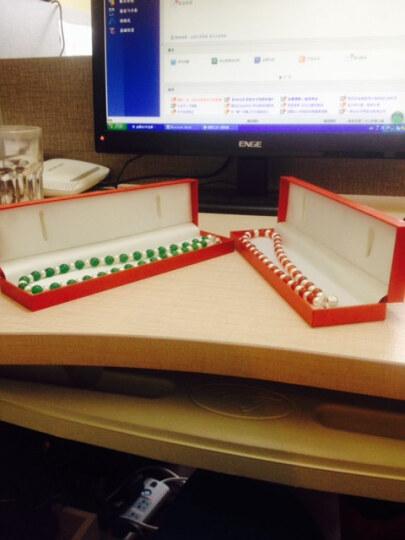 如怡(Rooyoor) 如怡 淑女首饰淡水珍珠项链红绿两色入 礼物女 红色款 晒单图