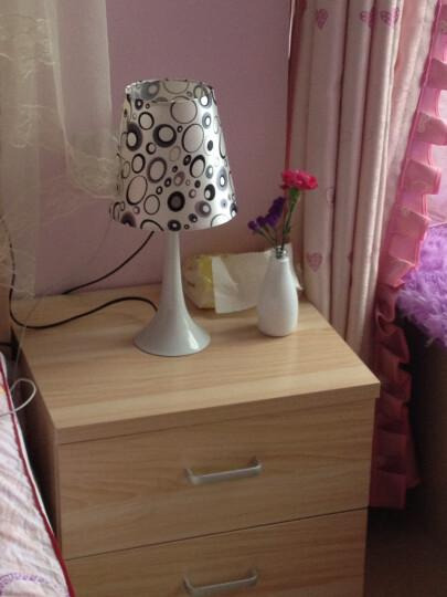 德洛特(dolot) 现代简约台灯 卧室客厅书房灯饰灯具 台灯 卧室 床头台灯 卧室 晒单图