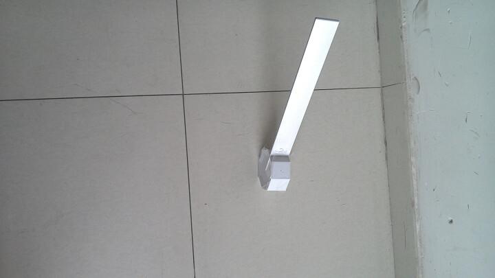 优洋 LED创意台灯 卧室床头学习台灯触控调光充电台灯 白色 含适配器 晒单图
