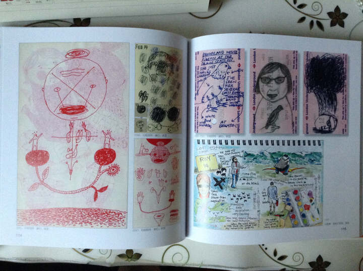 手绘的创意日志 晒单图