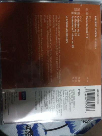 进口CD 肖邦:第1-3钢琴奏鸣曲24首练习曲(2CD) 晒单图