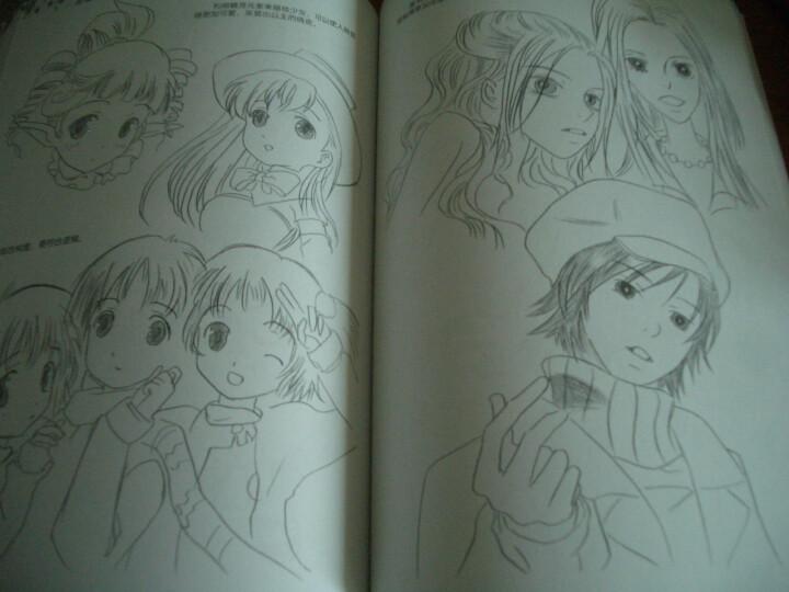 急需人物漫画素描图片.简单的.简笔的.好画