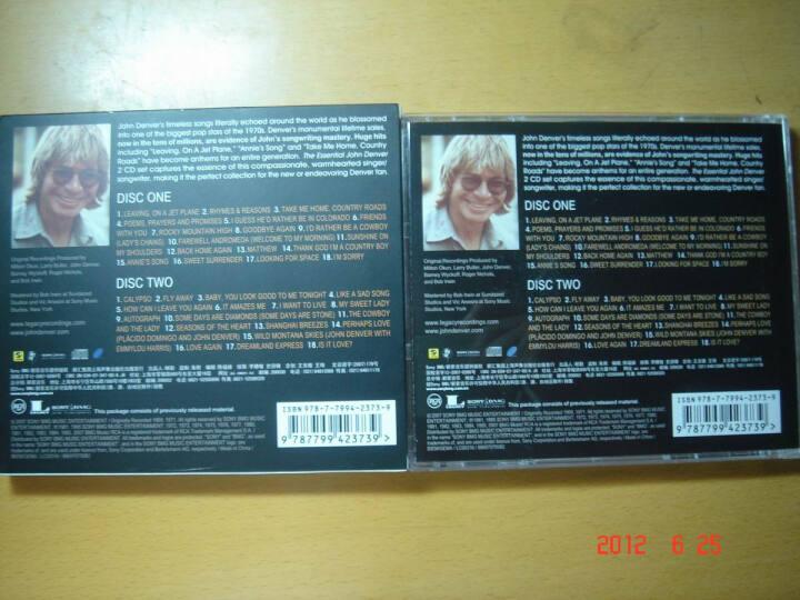 约翰丹佛 约翰丹佛世纪典藏 CD