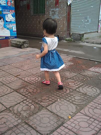新款宝宝鞋牛皮凉鞋女童小