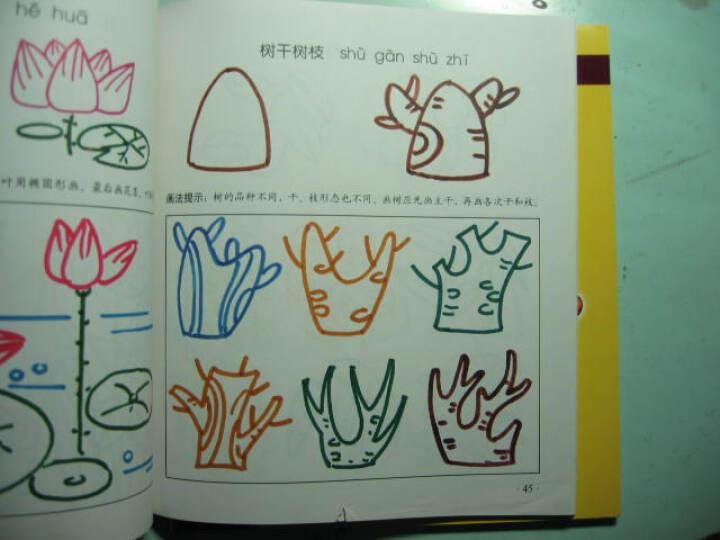 儿童简笔画:植物·风景(彩色版)--很好的书