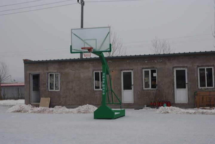 超级教练 单臂移动篮球架 国际标准篮球架 户外篮球架 室内篮球架 B011(单只) 晒单图