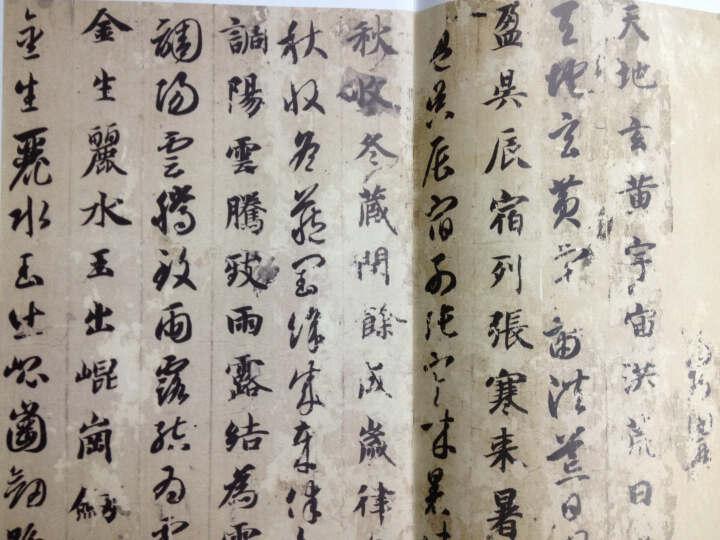 中国历代名家墨宝:智永真草千字文 晒单图