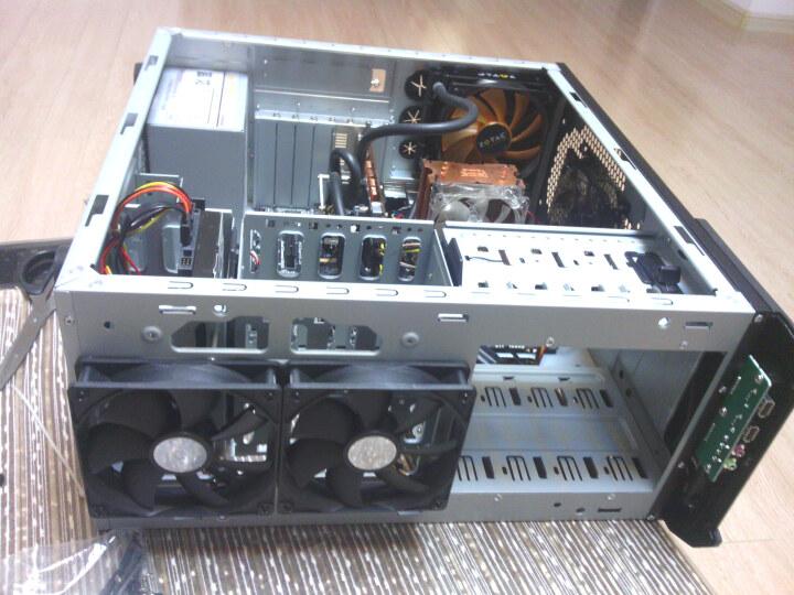 酷冷至尊(CoolerMaster)HAF912 黑色 中塔式机箱(支持ATX主板/USB3.0/背走线/电源下置/支持SSD) 晒单图