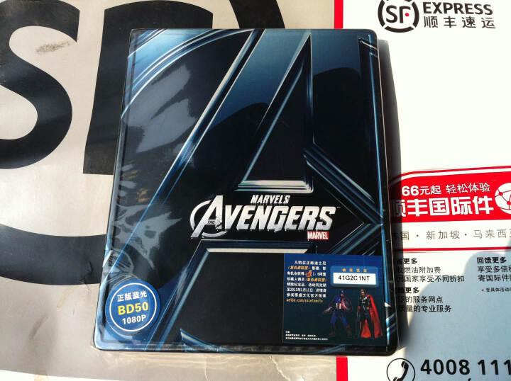 复仇者联盟3D+2D蓝光碟 BD铁盒版