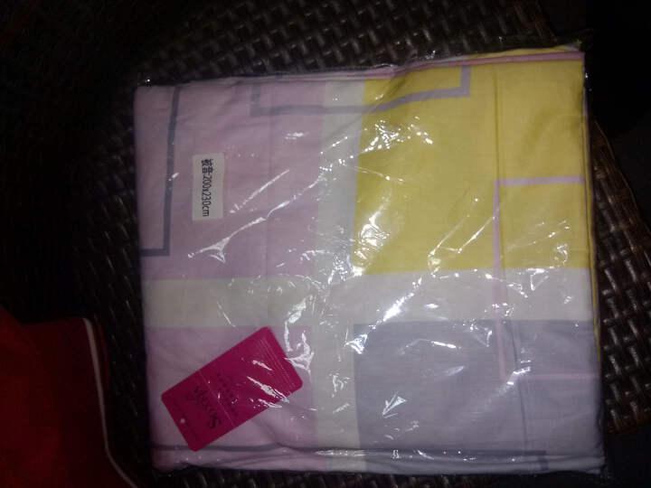 裴蕾家纺纯棉被套单件被罩全棉220*240/200*230双人床品chp01 花形十一 被套220*240 晒单图