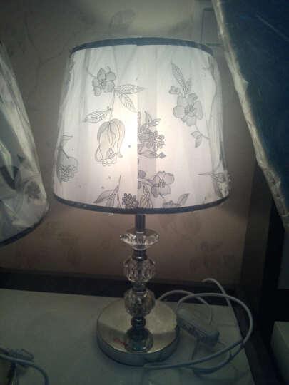 现代简约时尚台灯 客厅卧室书房台灯 工作学习台灯 护眼灯饰灯具 晒单图