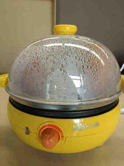 小熊(Bear)煮蛋器 双层蒸蛋器全不锈钢煎蛋器多功能早餐机旋钮控制家用自动断电 ZDQ-2191 晒单图