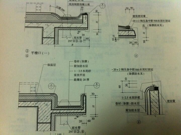 建筑节点构造图集:屋面工程 晒单图