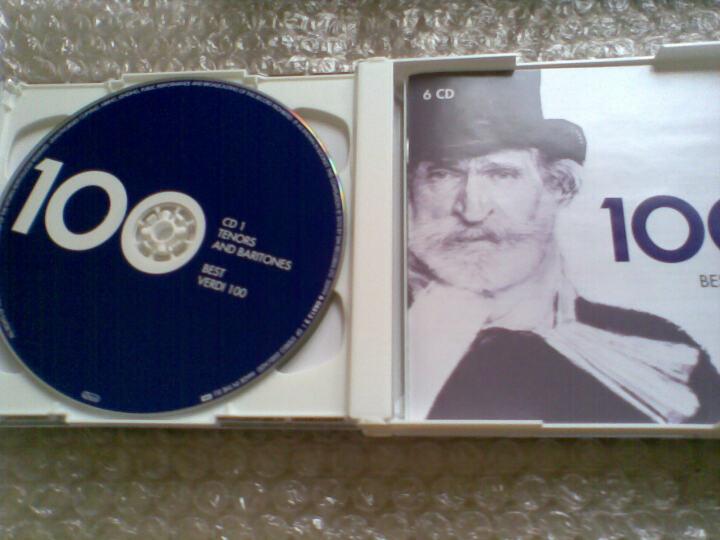 进口CD 威尔第百分百(6CD) 晒单图