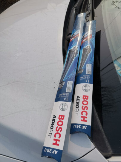 博世(BOSCH)雨刷器/雨刮器风翼U型无骨20/20对装适用于(锐意/民意/路宝/酷熊/Q6/拓路者/名爵MGTF/尊驰) 晒单图