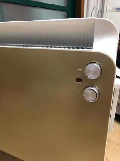 艾美特(Airmate) 取暖器/电暖器家用/电热暖气/欧式快热炉 浴室防水全屋暖电热炉HC22132-W 晒单图