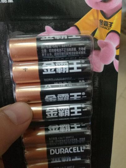 金霸王(Duracell)5号碱性电池AA干电池40粒装 适用于计算器无线鼠标血糖仪血压计遥控器玩具车麦克风手柄 晒单图
