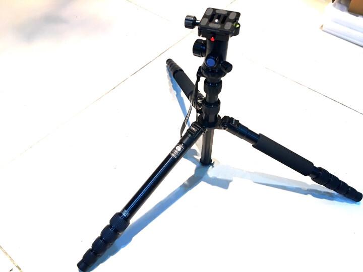 思锐(SIRUI)三脚架 E2004N+G21 含云台佳能尼康单反相机三角架铝合金 反折单反相机三脚架 微单通用 晒单图