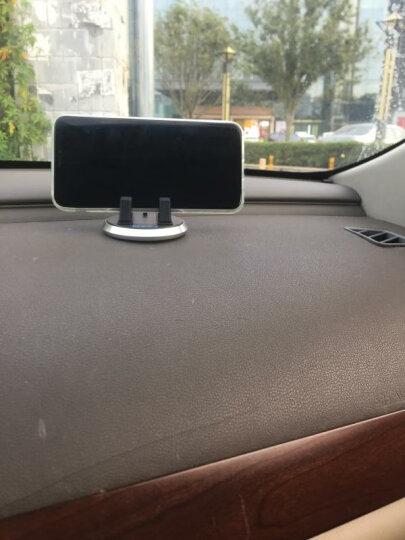 魅迪(MEIDI)车载手机支架 360度旋转式吸盘支架 车用仪表台手机导航支架功能小件 抖音同款支架 仪表台专用-银色【合金边框+360度旋转】送防滑垫 晒单图