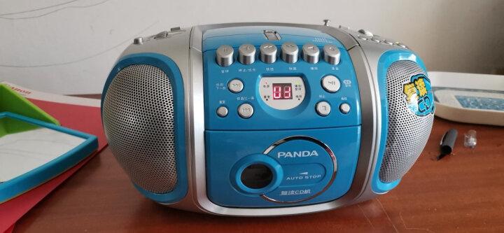 熊猫(panda)CD-200CD机 英语磁带复读机 便携式两波段收音机  胎教机  双喇叭磁带收录音机数码播放器 晒单图