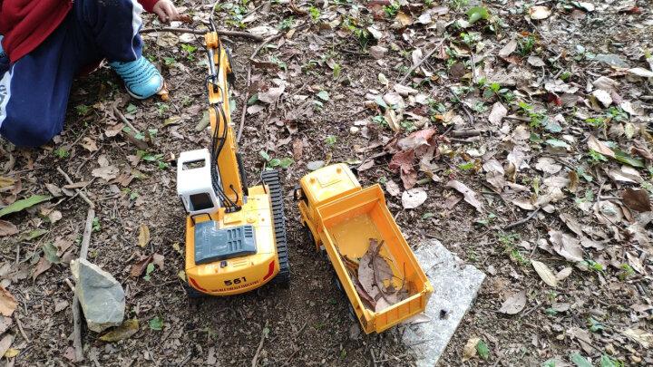 双鹰(DOUBLE E)遥控工程搅拌罐车(1:26)儿童玩具汽车模型男孩礼物 无线遥控工程车 E578-001 晒单图