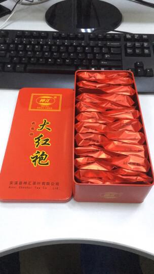 【298元】神汇 武夷大红袍 武夷山茶叶 岩茶 乌龙茶 铁盒装 晒单图
