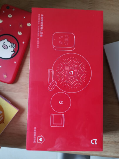 小米米家智能家庭套装礼品装 智能套装 网关+人体传感器+门窗传感器+智能插座+无线开关 晒单图