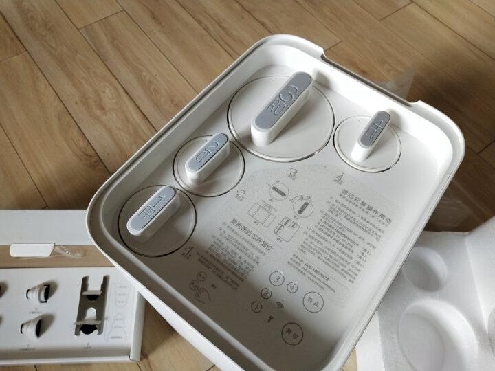 米家 小米净水器家用净水机 400G厨上增强版 RO反渗透 4重过滤直饮 双出水龙头 免安装 米家APP智能互联 晒单图