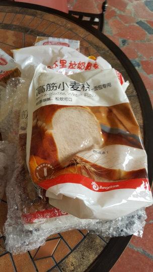 百钻高筋小麦粉1kg/袋面粉家用做吐司面包披萨饼底高筋粉烘焙原料 晒单图