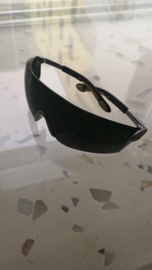 代尔塔 / DELTAPLUS 101012 焊接护目镜 焊接眼镜 电焊工防护眼镜 墨绿色 1副 厂家直发 晒单图