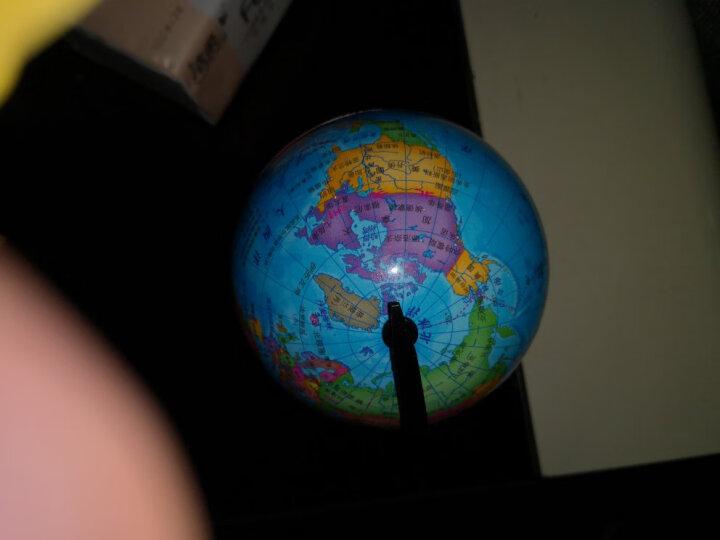 北斗地球仪 20cm学生地理学习地球仪 720度旋转 世界政区版 办公用品 教学研究摆件 教学用品(随机赠地理单张地图或世界知识读本) 晒单图