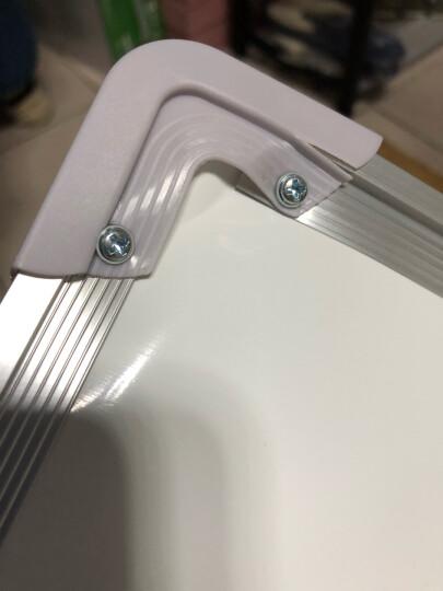 紫薇星(ZIWEISATR) 90*120磁性移动白板支架式黑板教学办公会议展示板写字板 90*120单面支架白板 晒单图