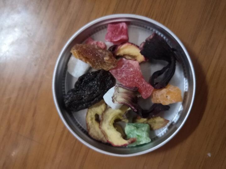【发3罐共540克】水果茶 果茶巴黎香榭果粒茶花果茶3罐装540克 泡水喝的新鲜果片干果茶叶 晒单图