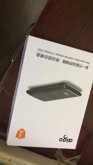 爱国者(aigo)480GB USB3.0 移动固态硬盘(PSSD)  S01 金属抗震防摔 名片大小 晒单图