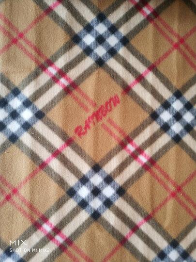 彩虹电热毯双人电褥子定时双温双控一键除螨电毯子  长1.7米 宽1.4米  JD14E 晒单图