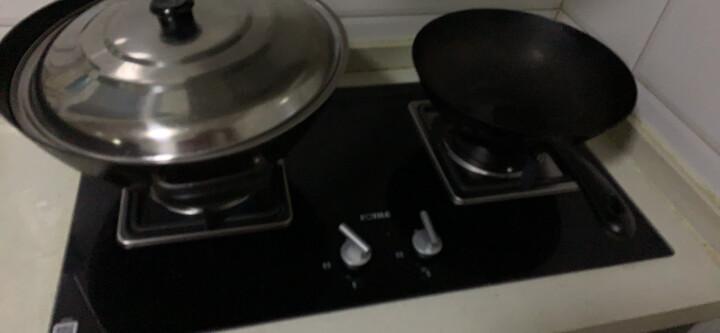 方太(FOTILE)燃气灶 嵌入式煤气灶双灶 钢化防爆玻璃 劲火精控4.1KW大火力 JZY-FD21BE(液化气) 晒单图