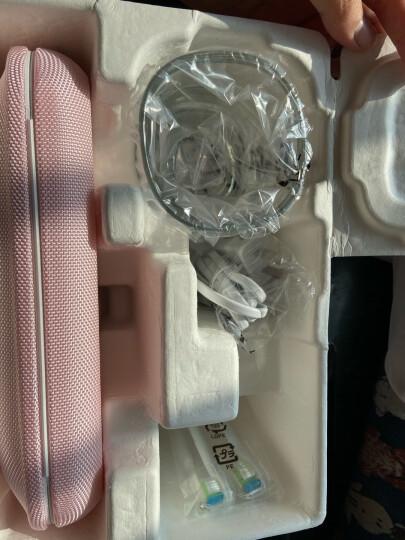 飞利浦(PHILIPS) 电动牙刷 成人声波震动钻石系列(自带刷头*2+充电旅行盒+充电玻璃杯) 粉钻HX9362/67 晒单图