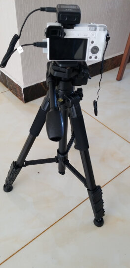 轻装时代JD220三脚架 微单反相机摄像机便携三角架云台佳能尼康手机摄影录像dv直播支架套装 晒单图