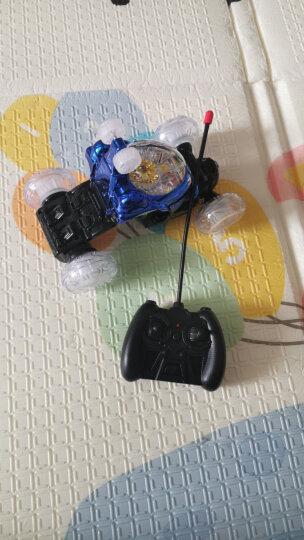 活石 儿童玩具车遥控车翻斗车充电音乐遥控汽车特技车男孩玩具六一儿童节礼物 炮塔版28CM红-重力感应方向盘 晒单图