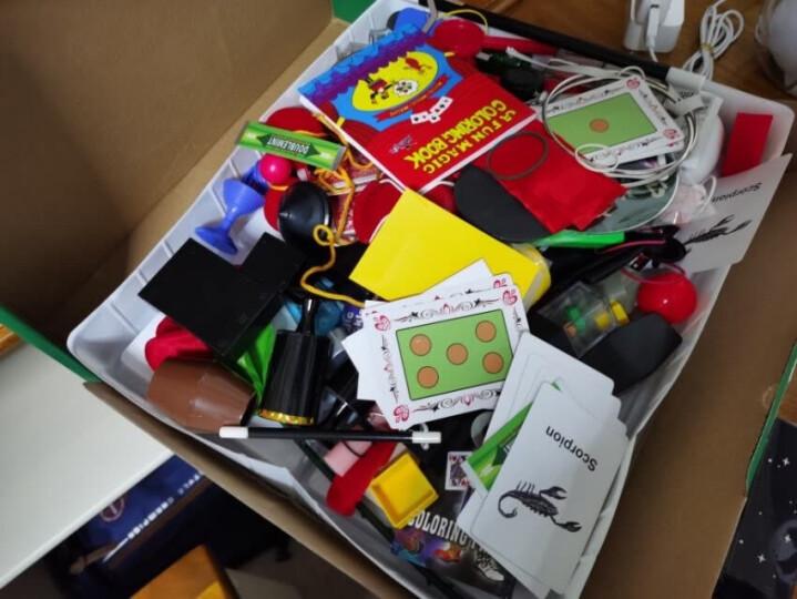 魔术道具套装大礼盒小学生变魔术魔术帽魔法棒8岁10岁6男孩小孩子新年生日礼物儿童玩具成人版解压小礼品 【豪华版】月光宝盒+视频教程+手提袋+100种玩法 晒单图