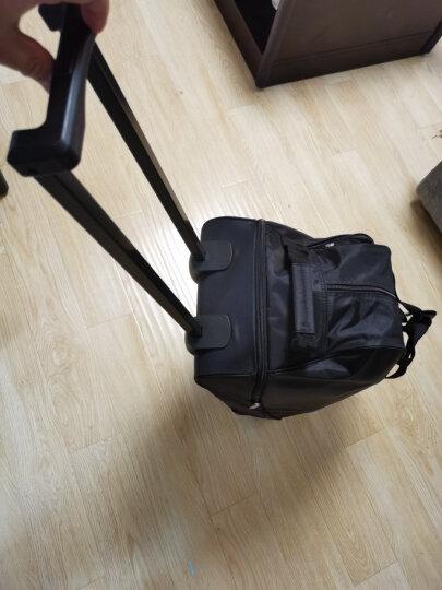 爱华仕(OIWAS)拉杆包 防泼水大容量户外旅行袋 休闲运动拉杆包 8001黑色 晒单图
