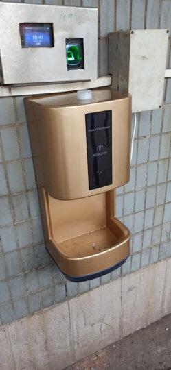 莫顿(MODUN)手部消毒器 全自动感应壁挂式喷雾式手部消毒机净手器 X5长款金色 晒单图