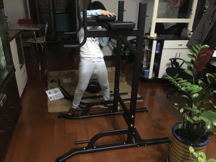 KAIKANG凯康 凯康引体向上器室内单杠家用健身器材 多功能单双杠 t058杠铃套餐 30kg环保哑铃+1.2米杠铃杆 晒单图