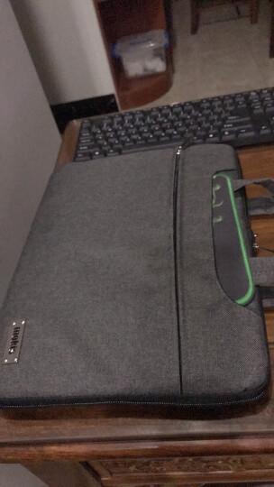 摩奇思【MOKIS】 阳离子面料14英寸男士商务笔记本电脑内胆包-MKDNB011-D 黑 晒单图