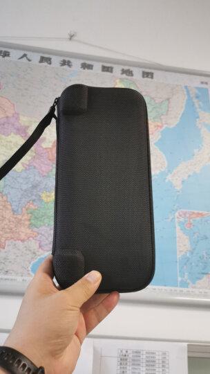 绿联(UGREEN)手机收纳袋 充电宝移动电源充电器保护套袋子 分线器移动硬盘U盘耳机束口绒布袋 大号 20319 晒单图
